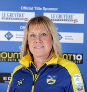 Pressbild på Maria Prytz. Svenska Curlingförbundet