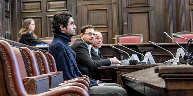 Mannen under rättegången. AXEL HEIMKEN / POOL