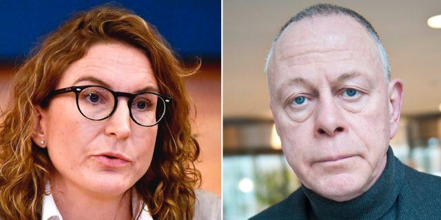 Vice chefsåklagare Caroline Fransson/Sonny Björk TT