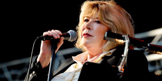 Marianne Faithfull på Stockholm music & arts 2012. ERIK MÅRTENSSON / TT / TT NYHETSBYRÅN