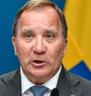 Ulf Kristersson/Stefan Löfven.  TT.