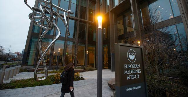 Arkivbild: EMA:s huvudkontor i Amsterdam Peter Dejong / TT NYHETSBYRÅN