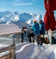 Illustrationsbild: Schweiziska skidorten Verbier.  Leo Duperrex / TT NYHETSBYRÅN