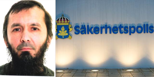 David Idrisson står under ständig bevakning från Säpo. Polisen / TT