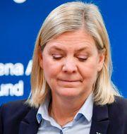 Illustrationsbild. Finansminister Magdalena Andersson (S). Anders Wiklund/TT / TT NYHETSBYRÅN