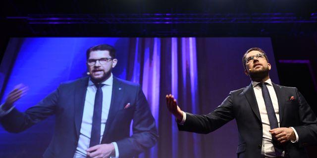 Jimmie Åkesson.  Vilhelm Stokstad/TT / TT NYHETSBYRÅN