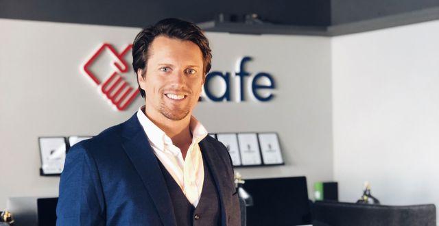 Anders Segerström, vd för iZafe.