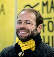 BK Häckens tränare Andreas Alm. Björn Larsson Rosvall/TT / TT NYHETSBYRÅN