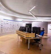 Simulator för kontrollrum för reaktor 1 vid Ringhals, som stängdes vid årsskiftet. Jonas Lindstedt/TT / TT NYHETSBYRÅN