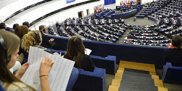 Europaparlamentet i Strasbourg.  Foto: Henrik Montgomery/TT
