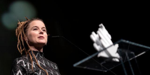 Amanda Lind invigde Göteborgs filmfestival. Björn Larsson Rosvall/TT / TT NYHETSBYRÅN
