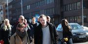Robin på väg till åklagarens pressträff i Karlstad. Adam Ihse/TT / TT NYHETSBYRÅN
