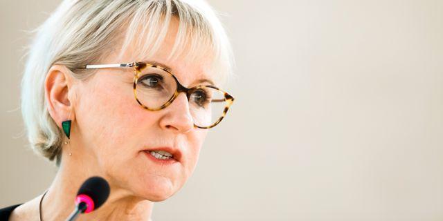 Margot Wallström. Arkivbild. Valentin Flauraud / TT NYHETSBYRÅN/ NTB Scanpix