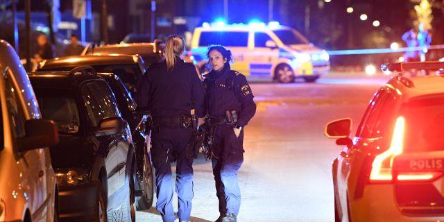 Misstänkt skottlossning i Malmö, 5 maj. Johan Nilsson/TT / TT NYHETSBYRÅN