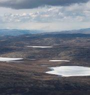 Arkivbild: Området nära Kangerlussuaq i maj Saul Loeb / TT NYHETSBYRÅN