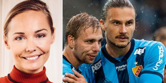 Carina Berg/Erik Johansson (höger). TT/Bildbyrån