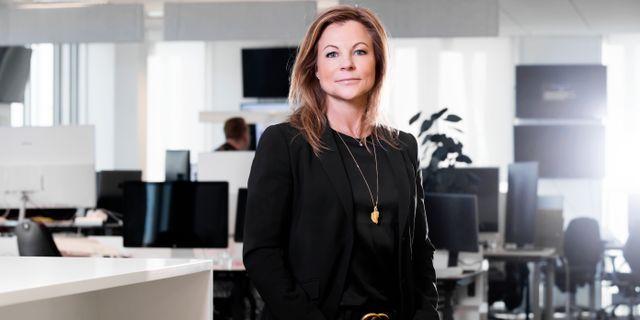 Stephanie Göthman, fondförvaltare på Skandia Fonder. Magnus Sandberg
