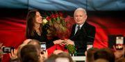 PiS-ledaren Jaroslaw Kaczynsk WOJTEK RADWANSKI / AFP PHOTO
