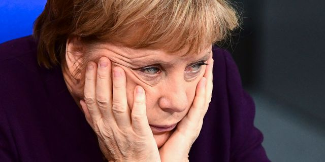 Angela Merkel. Soeren Stache / TT NYHETSBYRÅN
