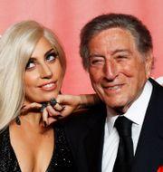Lady Gaga och Tony Bennett MARIO ANZUONI / TT NYHETSBYRÅN