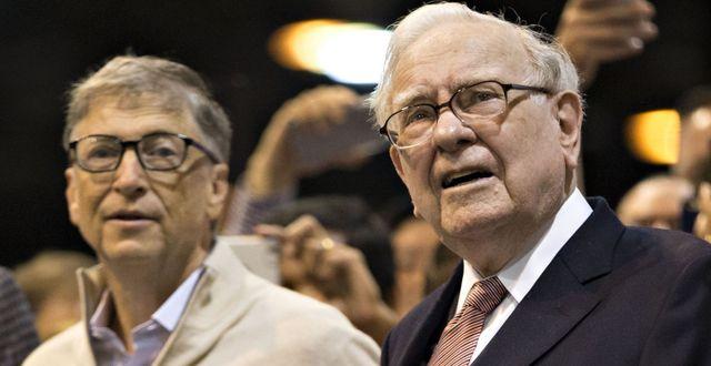 Bill Gates och Buffett. Daniel Acker / Bloomberg