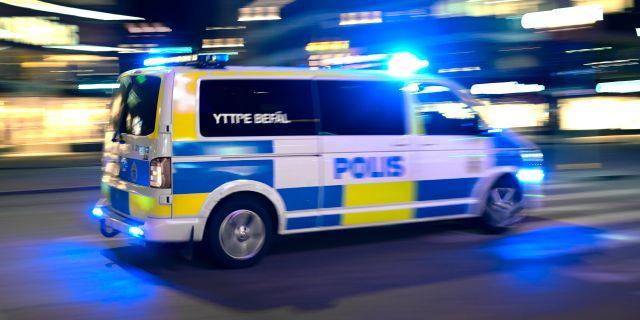 Polisbuss.  Janerik Henriksson/TT / TT NYHETSBYRÅN