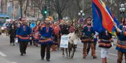 Arkivbild. Samer demonstrerar i Stockholm. Bertil Ericson / TT / TT NYHETSBYRÅN