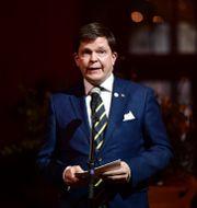 Talmannen Andreas Norlén. Stina Stjernkvist/TT / TT NYHETSBYRÅN