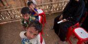 Rohingyer i flyktingläger i Bangladesh, januari 2018. Manish Swarup / TT NYHETSBYRÅN