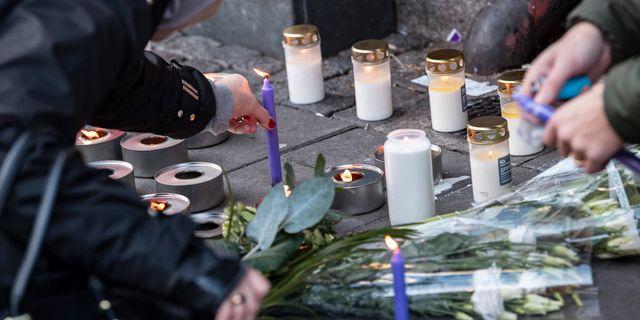 Mordplatsen vid Möllevångstorget. Johan Nilsson/TT / TT NYHETSBYRÅN
