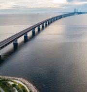 Öresundsbron mellan Sverige och Danmark.  Johan Nilsson/TT / TT NYHETSBYRÅN