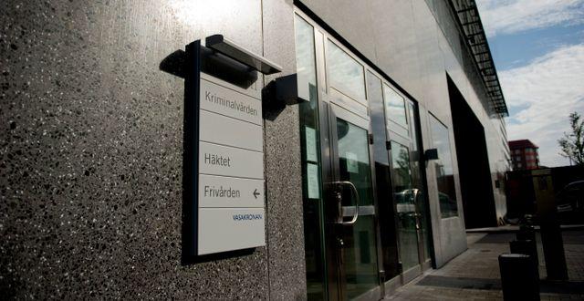 Kriminalvården häkte i Göteborg. Arkivbild. ADAM IHSE / TT / TT NYHETSBYRÅN