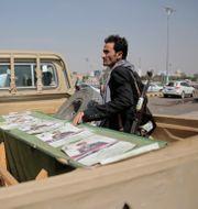 Beväpnad houthirebell i Marib/Arkivbild Hani Mohammed / TT NYHETSBYRÅN