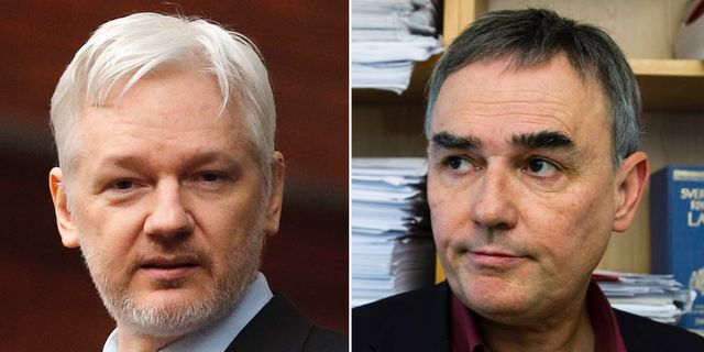 Arkivbilder: Julian Assange / Per E Samuelson TT