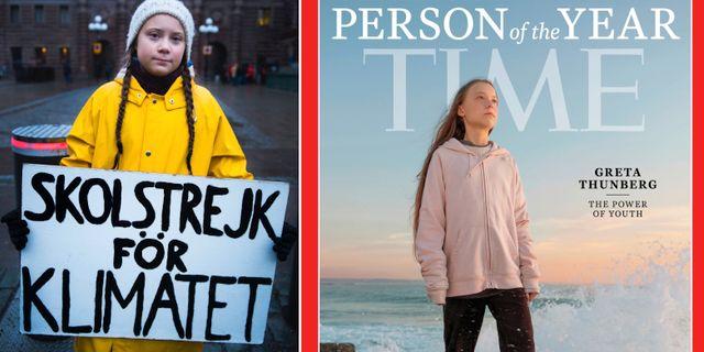 Greta Thunberg 2018/Times omslag. TT