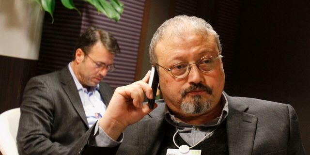 Jamal Khashoggi, arkivbild. Virginia Mayo / TT NYHETSBYRÅN