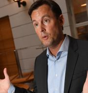 Johan Forssell, vd på Wallenberg-ägda Investor.  Jonas Ekströmer/TT / TT NYHETSBYRÅN