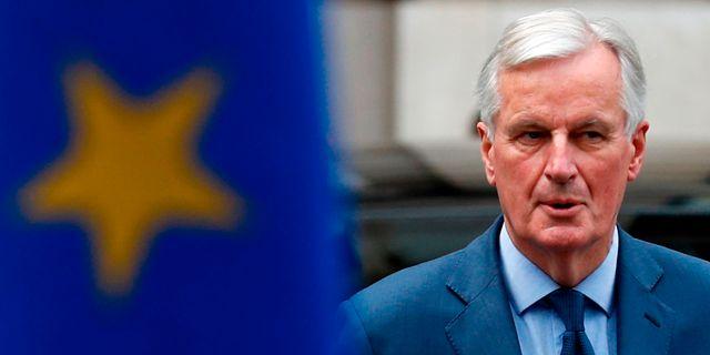 Michel Barnier. ADRIAN DENNIS / AFP