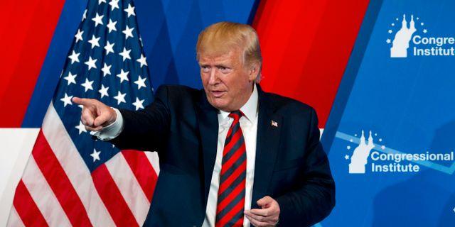 Donald Trump.  Jose Luis Magana / TT NYHETSBYRÅN