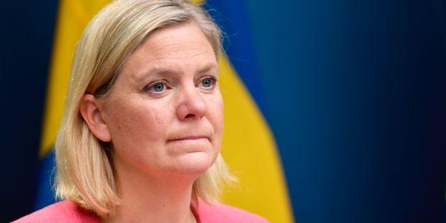 Magdalena Andersson, arkivbild. Henrik Montgomery/TT / TT NYHETSBYRÅN