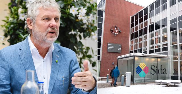 Peter Eriksson (MP). TT