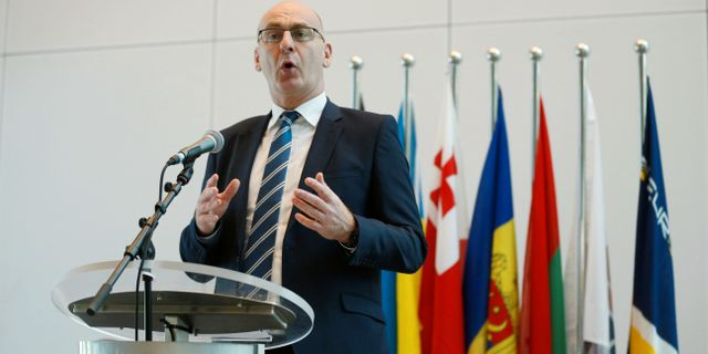 Steven Wilson, chef för Europols division för cyberkriminalitet EVA PLEVIER / TT NYHETSBYRÅN