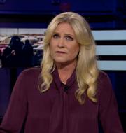 Agendas programledare Camilla Kvartoft. SVT