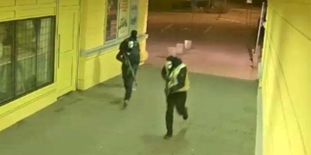 Bilder från förundersökningen kring skjutningen i Göteborg.  Polisen / TT NYHETSBYRÅN