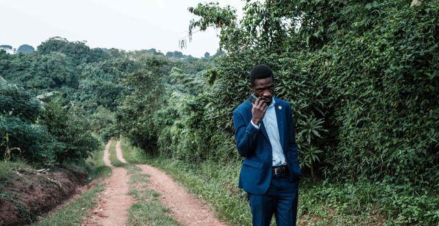 Bobi Wine.  YASUYOSHI CHIBA / TT NYHETSBYR�N