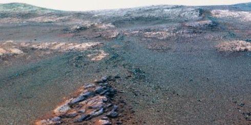 En detalj ur den nya panoramabilden Nasa