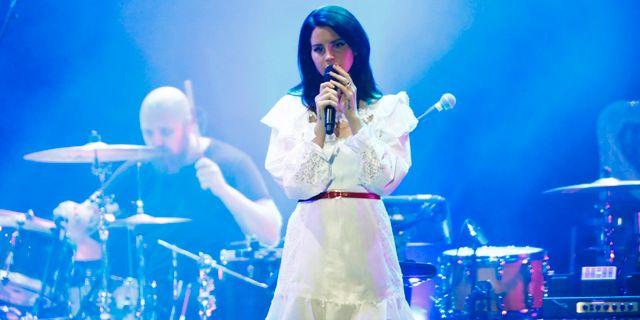 Lana Del Rey på Way Out West 2017. Thomas Johansson / TT / TT NYHETSBYRÅN