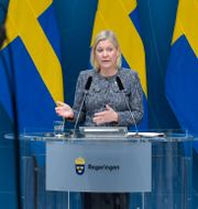 Illustrationsbild: Finansminister Magdalena Andersson (S).  Jessica Gow/TT / TT NYHETSBYRÅN