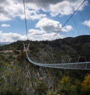 """Världens längsta hängbro """"516 Arouca"""".  CARLOS COSTA / TT NYHETSBYRÅN"""