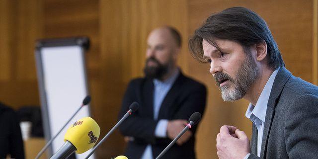 Markus Kallifatides är ordförande i S-föreningen Reformisterna.  TT
